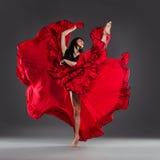 Dansa blomman Arkivbild