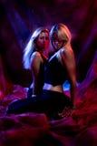dansa dark Arkivbilder