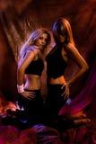 dansa dark Royaltyfria Bilder