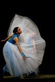 dansa dekorativ vektor för illustration för designflickadiagram Royaltyfria Bilder
