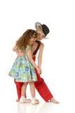 dansa för barn Arkivbild