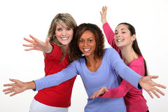 Dansa för flickor Arkivfoton