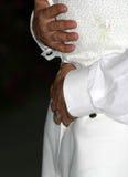 dansa första bröllop arkivfoto