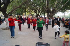 Dansa fritids- aktiviteter Royaltyfria Foton