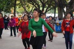 Dansa fritids- aktiviteter Fotografering för Bildbyråer