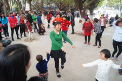 Dansa fritids- aktiviteter Royaltyfria Bilder