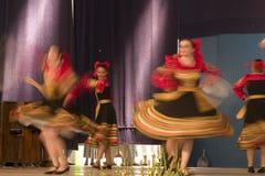 Dansa i Cantonigrà ² s Royaltyfria Foton