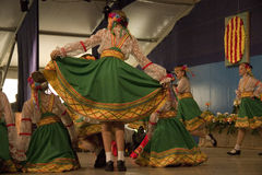Dansa i Cantonigrà ² s Royaltyfria Bilder