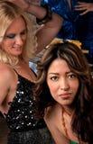 dansa nätt kvinnor Royaltyfri Fotografi