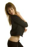 dansa sexig kvinna royaltyfria foton