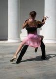 dansa som är behagfullt arkivbild