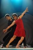 dansa som är modernt royaltyfri foto