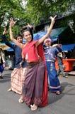 dansa som är thai Royaltyfria Bilder