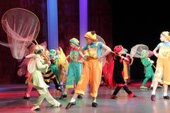 Dansa strid i Kremenchuk, Ukraina Royaltyfria Foton