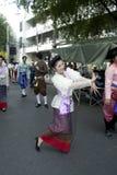 dansa thai traditionellt Royaltyfri Bild
