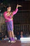 dansa thai traditionellt Arkivfoton