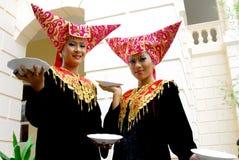 Dansa uppläggningsfat Royaltyfri Fotografi