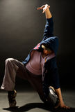 dansar modernt Arkivbilder
