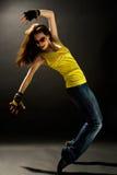 dansar modernt Arkivfoto