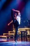 Dansare av Caro Dance Theatre utför på etapp arkivfoton