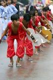dansare de tanjay saulug Arkivfoton