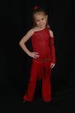 dansare för 3 barn Arkivbild