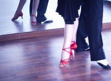 Dansare för balsaldans Royaltyfria Foton