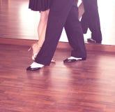 Dansare för balsaldans Arkivbild