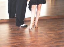 Dansare för balsaldans Arkivfoton