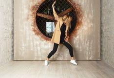 Dansare för gatadansflicka Royaltyfria Foton