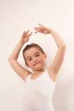 dansare för kamera för 9 balett gullig little som ler Royaltyfria Foton