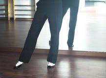 Dansare för man för balsaldans Royaltyfria Foton