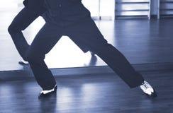 Dansare för man för balsaldans Fotografering för Bildbyråer