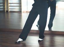 Dansare för man för balsaldans Royaltyfri Bild