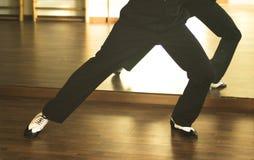 Dansare för man för balsaldans Arkivbilder