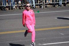 Dansare 2019 för St Louis St Patrick Day Parade VII royaltyfri fotografi