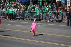 Dansare 2019 för St Louis St Patrick Day Parade VIII royaltyfri fotografi