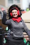 Dansare 2019 för St Louis St Patrick Day Parade XIII royaltyfria bilder