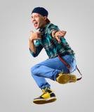 Dansare för ung man royaltyfri foto