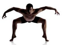 Dansare för vuxen man Arkivbild