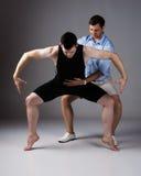 Dansare för vuxen man arkivfoto