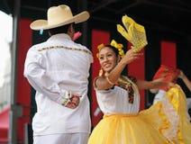 Dansare från Mexico Royaltyfria Bilder