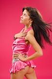 dansare går Arkivfoto