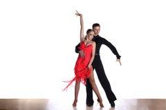 Dansare i balsal Arkivfoto