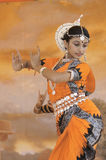 dansare india Arkivfoto
