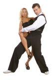 dansare latina Royaltyfri Foto
