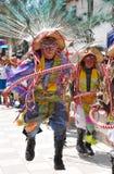 dansare maskerad peruan fotografering för bildbyråer