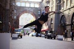 Dansare på gatan arkivfoton