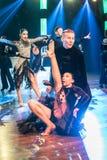 Dansare som dansar latinsk dans Royaltyfri Bild