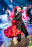 Dansare som dansar standard dans Royaltyfri Bild